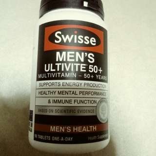 SWISEE MEN'S ULTIVITE 50+ 90 TABLETS