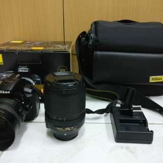 Nikon D5300 with 18-140mm & 35mm 1.8g