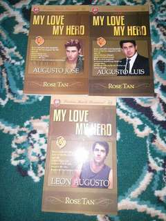 My Love My Hero- by Rose Tan