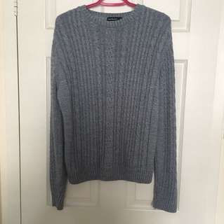 Blue Cedarwood State Knit Sweater
