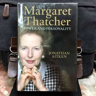 #Highly Recommended《Bran-New + Hardcover Collection Edition》Jonathan Aitken - MARGARET THATCHER : POWER AND PERSONALITY