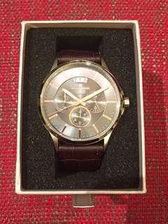 全新Jacques Lemans男士腕錶