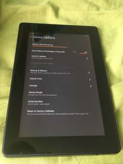 Kindle fire hd 3rd generation