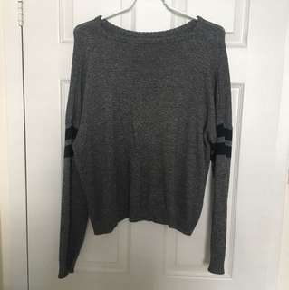Grey Brandy Melville Knit Sweater