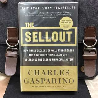 《Preloved Paperback + The Definitive Account of Wall Street's Stunning Collapse》Charles Gasparino - THE SELLOUT : How Three Decades of Wall Street Greed and Government Mismanagement Destroyed the Global Financial System