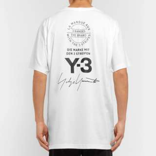 Y-3 Oversized Printed Cotton-Jersey T-Shirt
