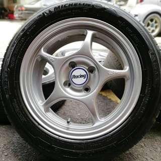 Enkei rpo1 15 inch sports rim saga flx tyre 70%. Gosok baju dalam hutan, brother ini rim confirm menjadi rebutan!!!