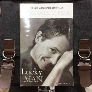 《Preloved Paperback + The Autobiography》Michael J. Fox - LUCKY MAN : A Memoir