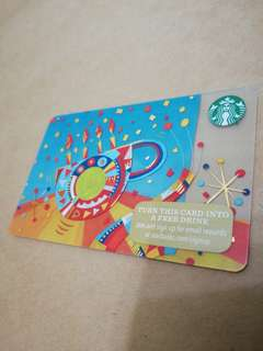 Starbucks Card Cup with Candles design