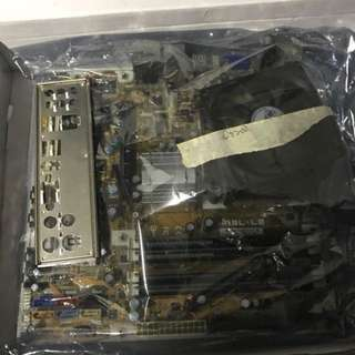 Motherboard + CPU + RAM combo