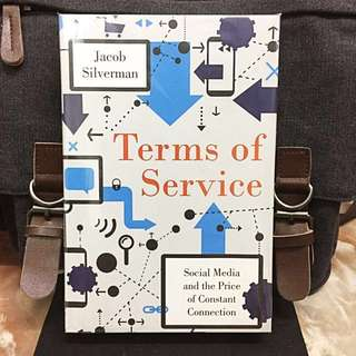 # Highly Recommended《Bran-New + Hardcover Edition + Explore & Reveal The Danger of Social Media And How To Take Back The Control》Jacob Silverman - TERMS OF SERVICE : Social Media and the Price of Constant Connection