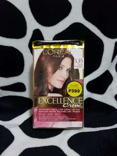 Loréal Chocolate Brown Hair Color 5.35