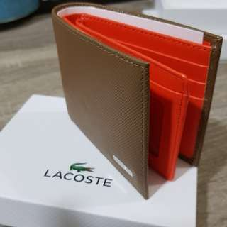 Brand New Original Lacoste Wallet Mens