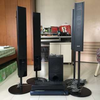 Sony HT-SF2300 - 5.1 channel - home theater system - 1000W