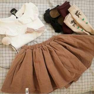 Nude coloured skirt