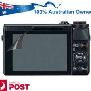 Canon g7x mark 1 and 2 Film Screen Protector free postage