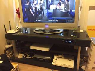 日立電視連Yamaha 音響電視櫃All-In-One