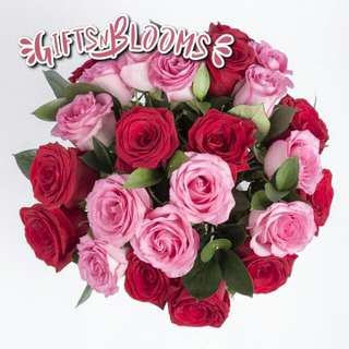 Fresh Flower Bouquet Surprise for Special Anniversary Birthday Gift V54 - TQSZO