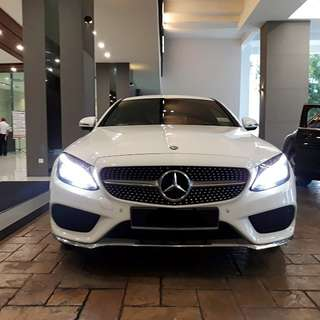 Mercedes C250 coupe for rent