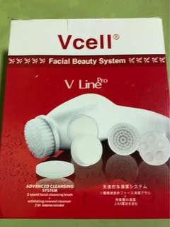 VCell Vline pro facial system with free gift!