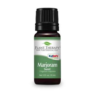 Plant Therapy Marjoram Sweet Essential Oil 10ml