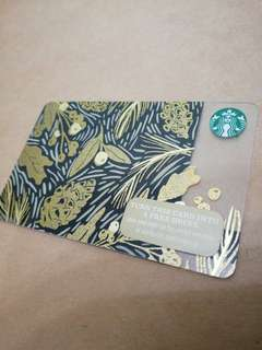 Starbucks Golden Leaves Card