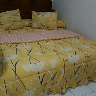 Set bed cover