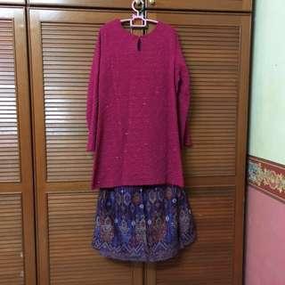 (Free Postage) Baju Kurung Moden