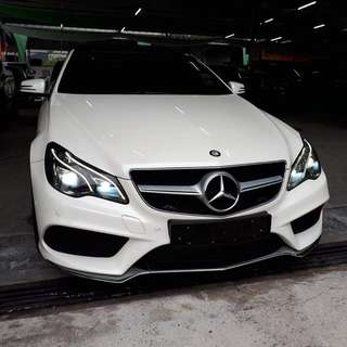 Mercedes E250 coupe for rent