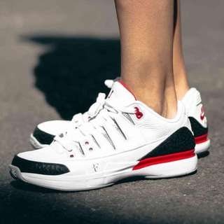Nike Zoom Vapor RF x AJ3 Air Jordan x Roger Federer Fire Red