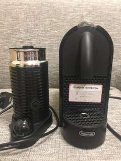 Nespresso 咖啡機連打奶器