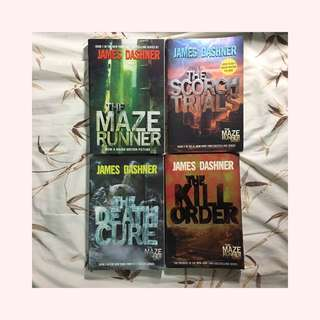 Maze Runner Series (all four books!)