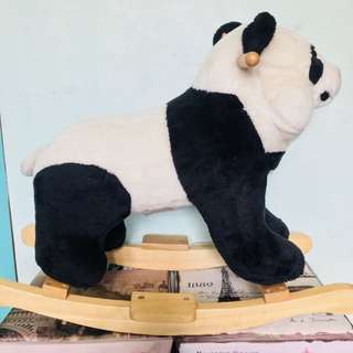 Rocking Panda with Sounds