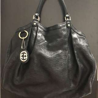 Gucci Sukey Tote Large Leather