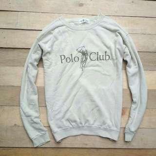 Original poloclub crewneck sz M