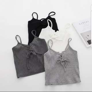 Lace up Camisole Top