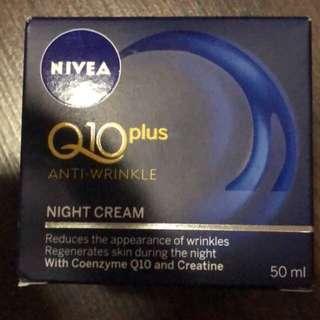 Q10 night cream