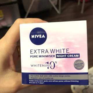 Whitening night cream