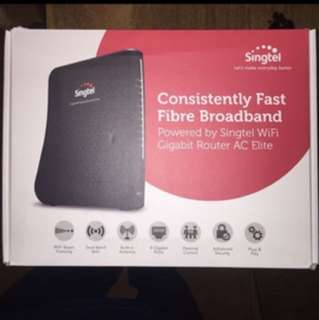 Singtel brand new AC router