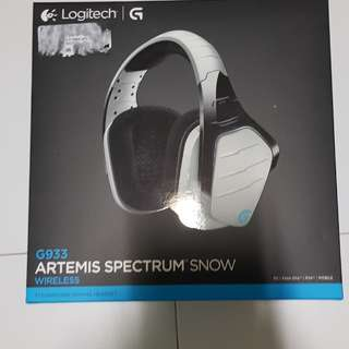 Logitech G933 Artemis Spectrum Snow