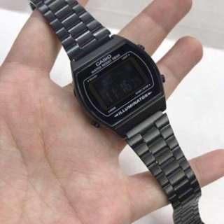 Casio Vintage Watch (All-Black Edition) Original