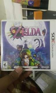 3DS GAME Legend of Zelda Majora Mask
