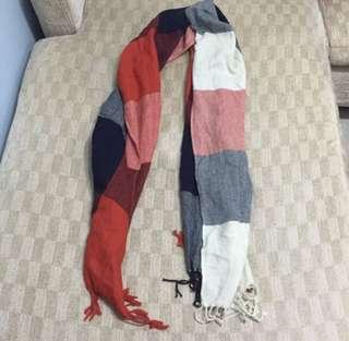 Flannel scarf/shawl