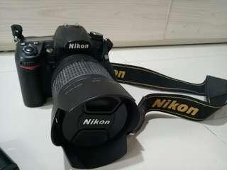 NIKON KAMERA DSLR D7000 lensa 18-105mm ORI SECOND FREE WINTEC MEMORY CARD 32GB
