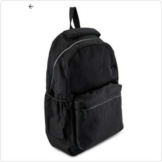 #QUALITY SOLID BLACK BACKPACK BRAND NEW