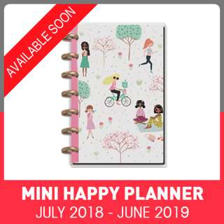 2018 - 2019 MINI Happy Planner - Squad Goals