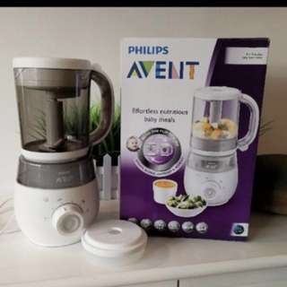 4 in 1 avent baby food maker