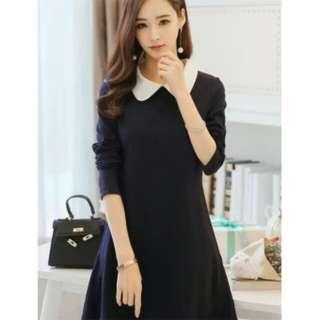 Longsleeve with collar dress
