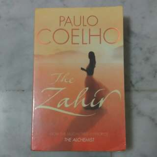 * moving out sale * The Zahir by Paulo Coelho
