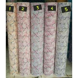 Wallpaper dinding motif sakura